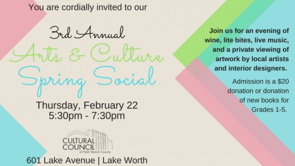 Women United Arts and Culture Spring Social