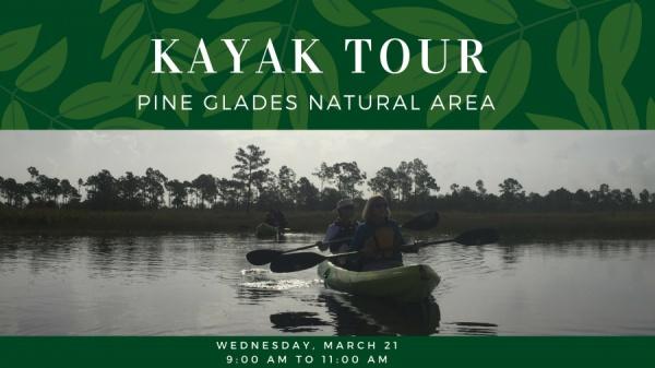 Public Kayak Tour – Pine Glades