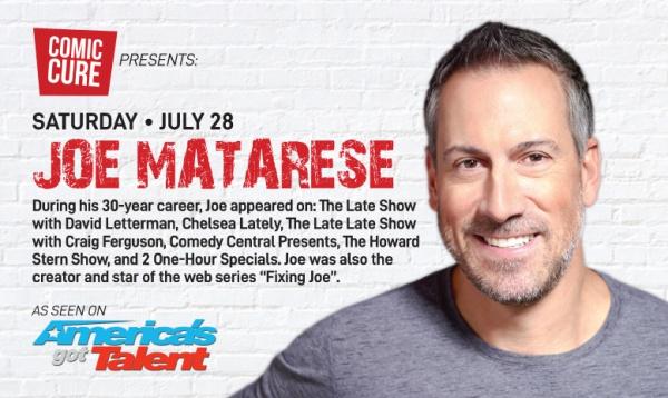 Boca Raton Summer Comedy Series: Joe Matarese