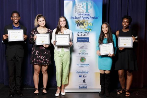 High School Poetry Contest Awards Ceremony & Reading