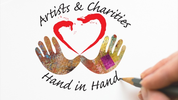 Artists and Charities Hand in Hand Art Show