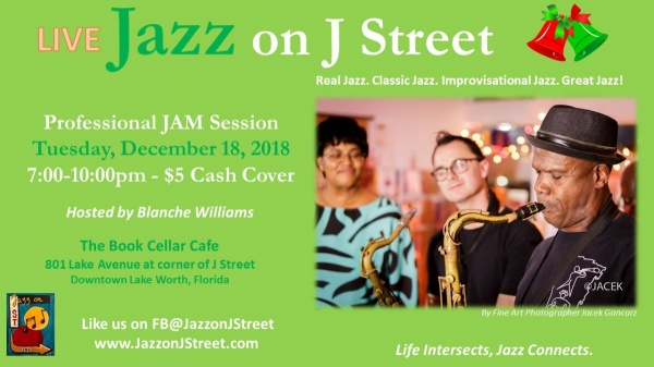 Jazz on J Street Holiday JAM Session hosted by Blanche Williams