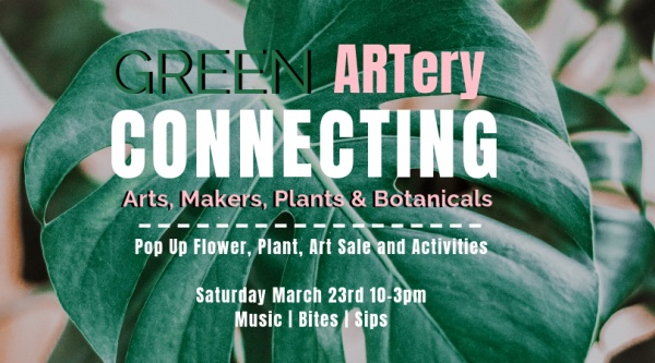 Green ARTery Pop Up Exhibition