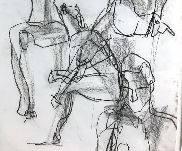 Zen Drawing: Non-attachment As Outcome