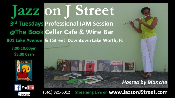 Jazz on J Street Professional JAM Session hosted by Blanche Williams
