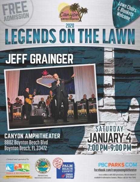 Legends on the Lawn: Jeff Grainger