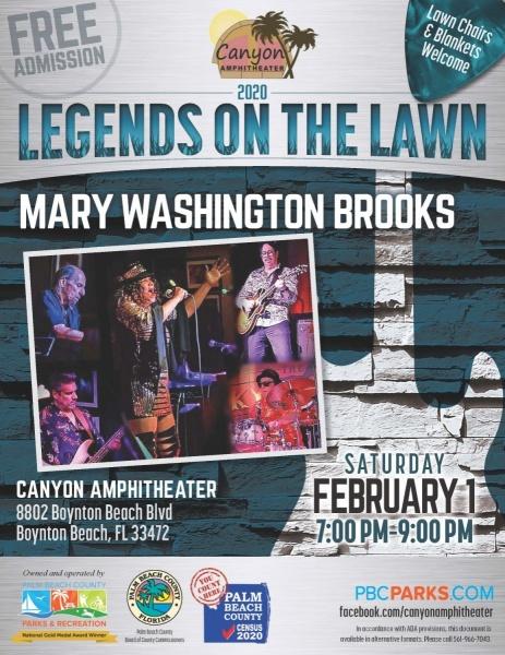 Legends on the Lawn: Mary Washington Brooks