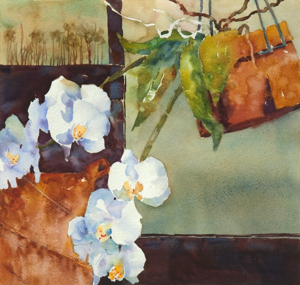 Achieving Texture with Watercolors & Painting on Alternative Surfaces with Sue Archer