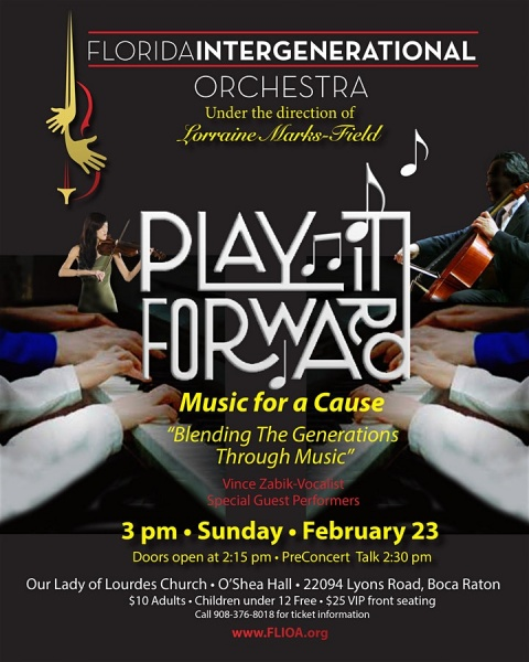 Play it Forward: Music for a Cause