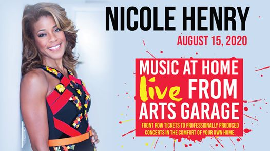 Music at Home: Live from Arts Garage - An Evening with Nicole Henry