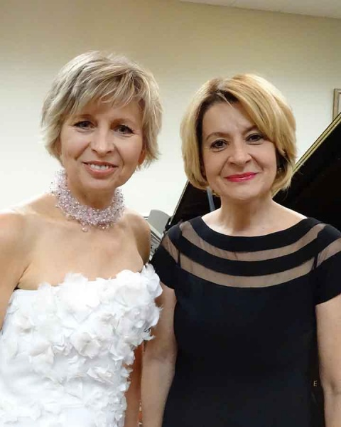 Music in the Museum - Dr. Irena Kofman and Marina Berberian