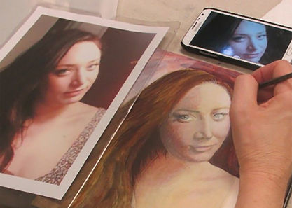 Realistic Painting From a Photograph with Suzanne Scherer 6-Week Session