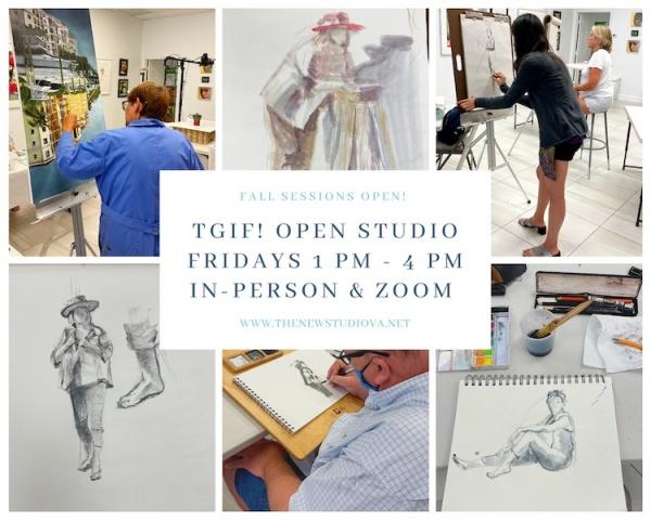 TGIF Open Studio Fridays!