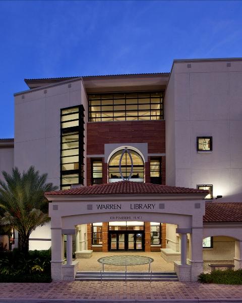 Palm Beach Atlantic University Warren Library